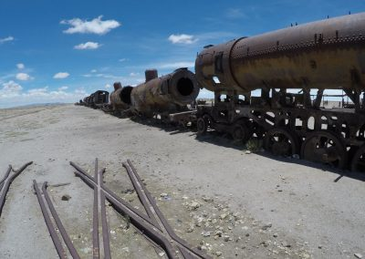 Train Graveyard - Uyuni