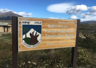 Day 1 - arrive at Torres del Paine National Park