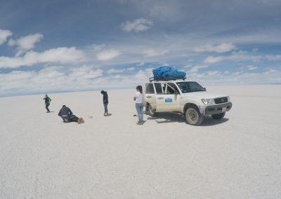 Salar (Uyuni salt plains)