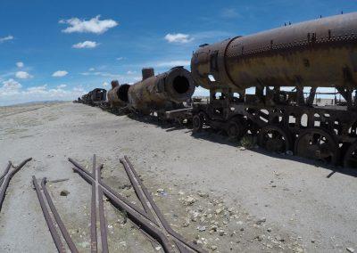 Train Graveyard - Uyuni