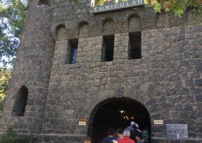 Santiago Funicular up San Cristobal Hill