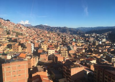 La Paz (from cable car)
